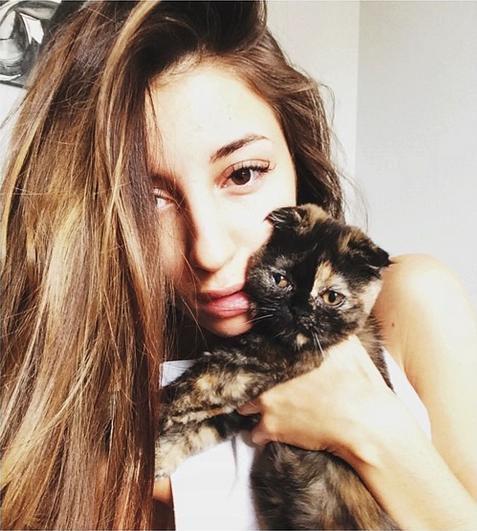 Певица Кристина Si и котенок Мисси