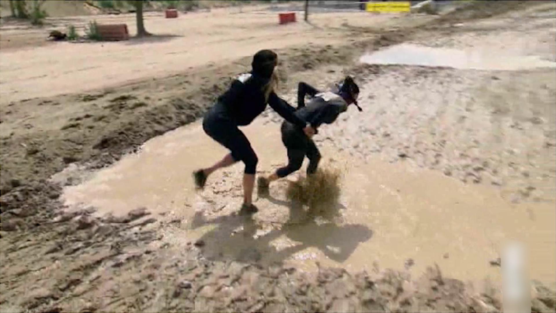 вагина в грязи