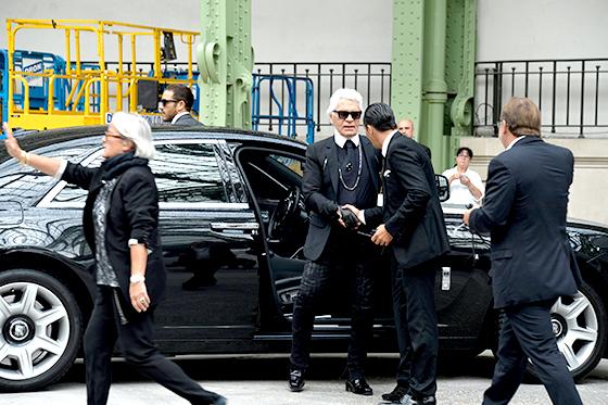 Карл Лагерфельд (Chanel)