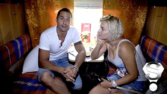Певец Стас Костюшкин с супругой Юлией