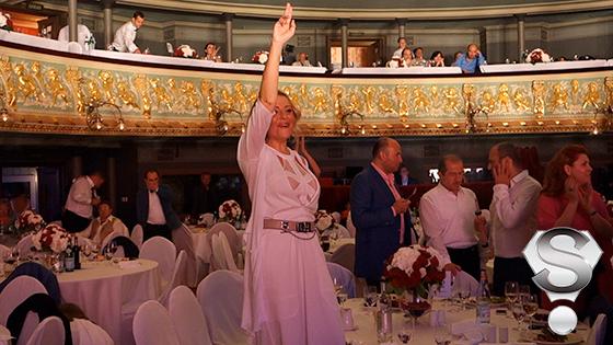 Особое впечатление концерт заморской звезды произвел на Анжелику Варум