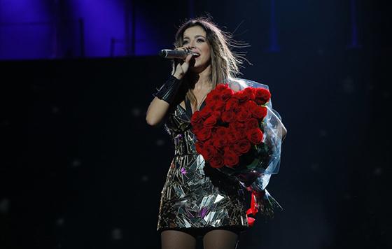 Ани Лорак потрясена случившимся на ее концерте в Одессе