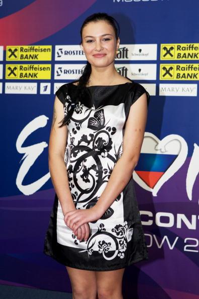Певица Анастасия Приходько представляла Россию на конкурсе «Евровидение-2009»