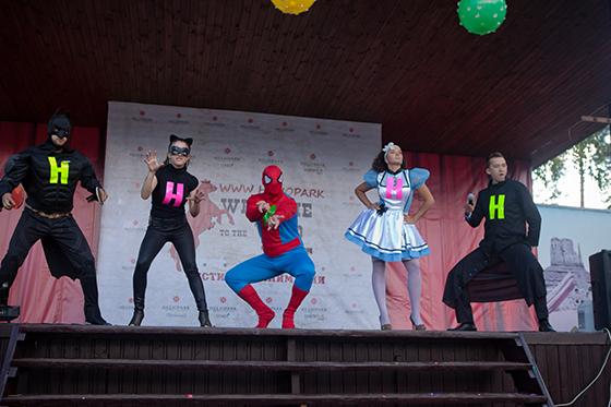 В подмосковном отеле HELIOPARK Country Resort прошел «Фестиваль Анимации»