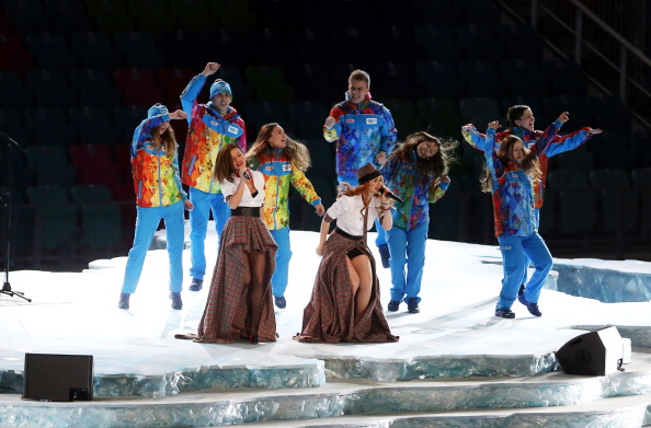 Группа «Тату» на открытии Олимпийских игр в Сочи