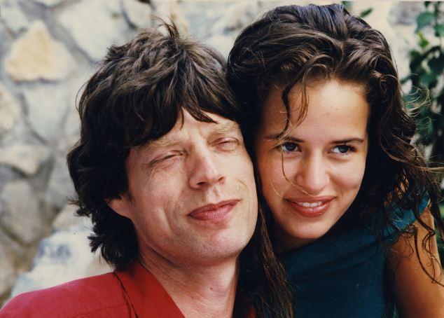 Мик Джаггер с дочерью Джейд