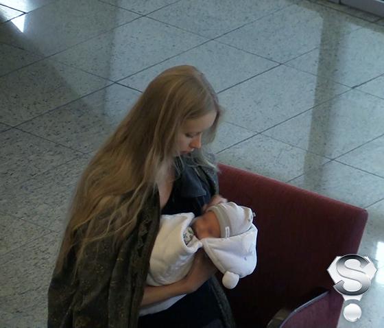 Марина Коташенко не сводила глаз с маленького Александра