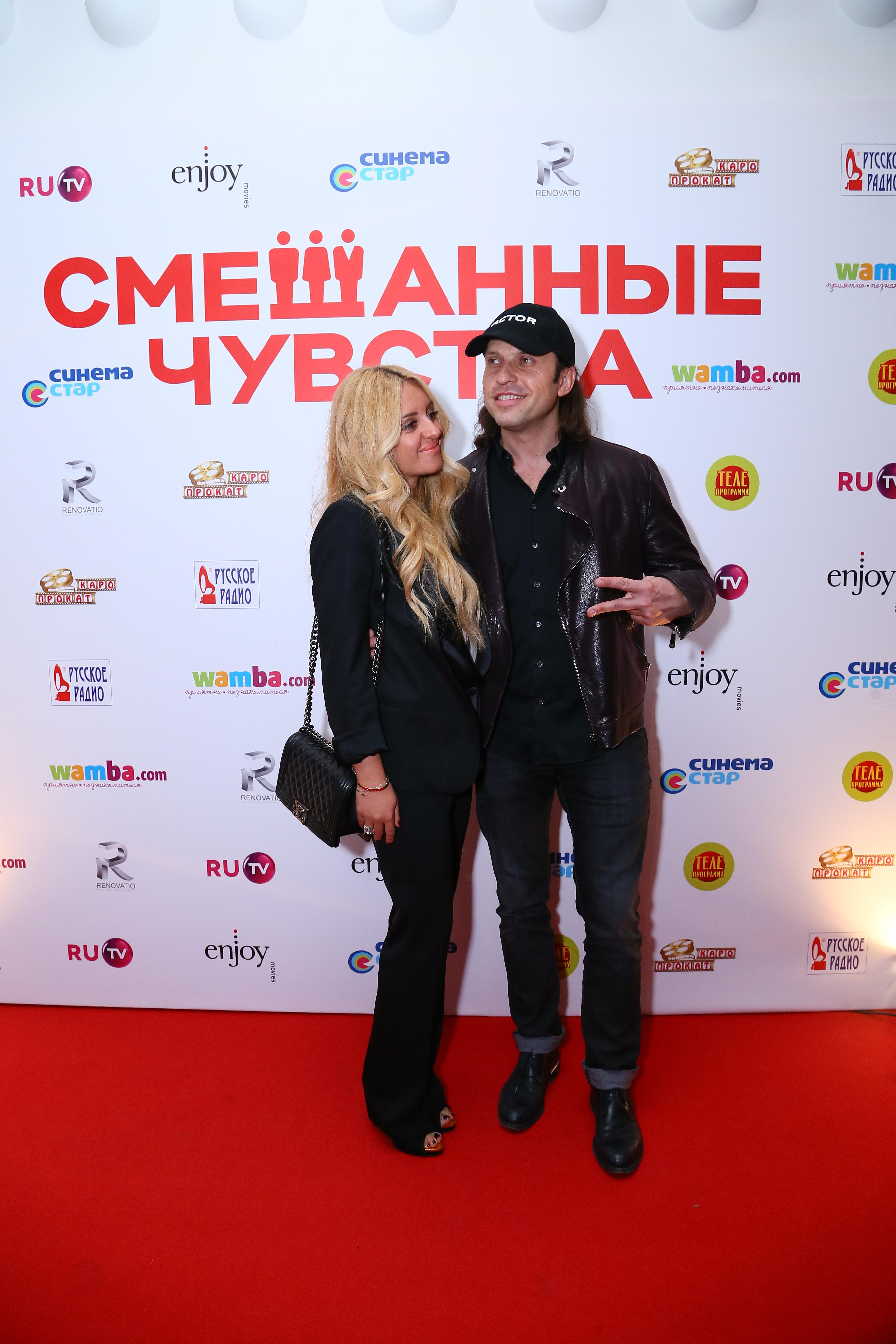 Александр Ревва с супругой Анжеликой