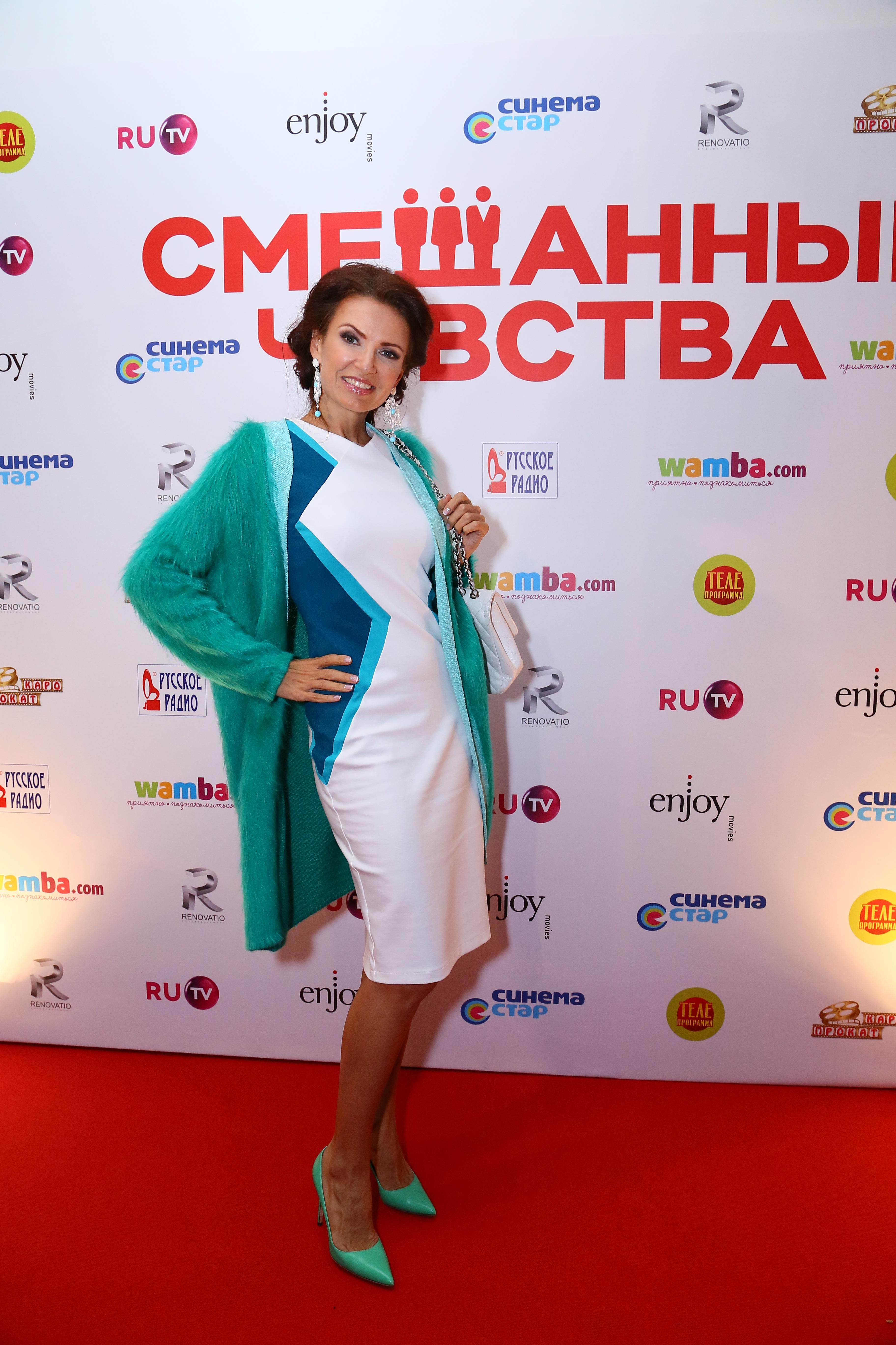 Телеведущая Эвелина Бледанс