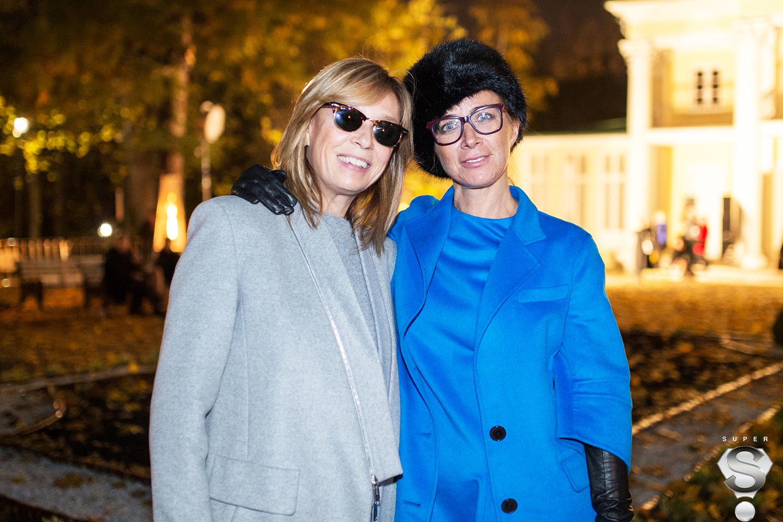 Журналист Алёна Долецкая и писатель Ника Белоцерковская