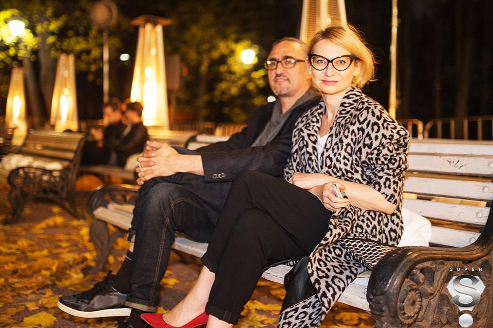Журналист Эвелина Хромченко и художник Дмитрий Семаков
