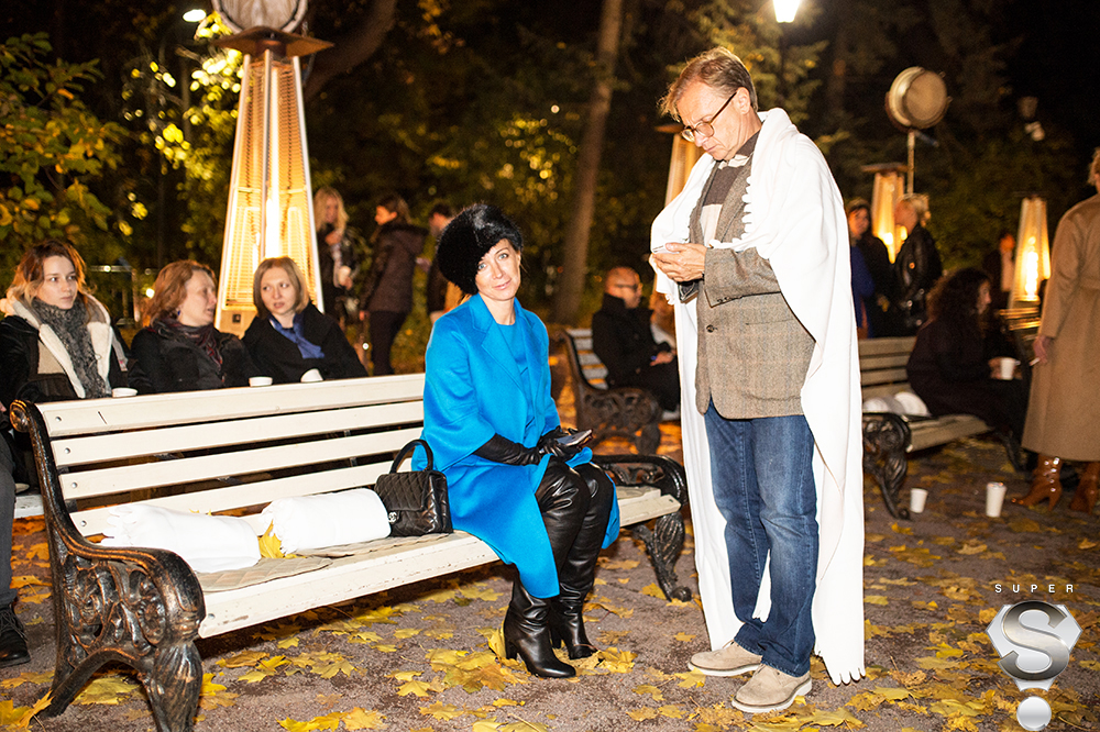 Писатель Ника Белоцерковская и предприниматель Борис Белоцерковский