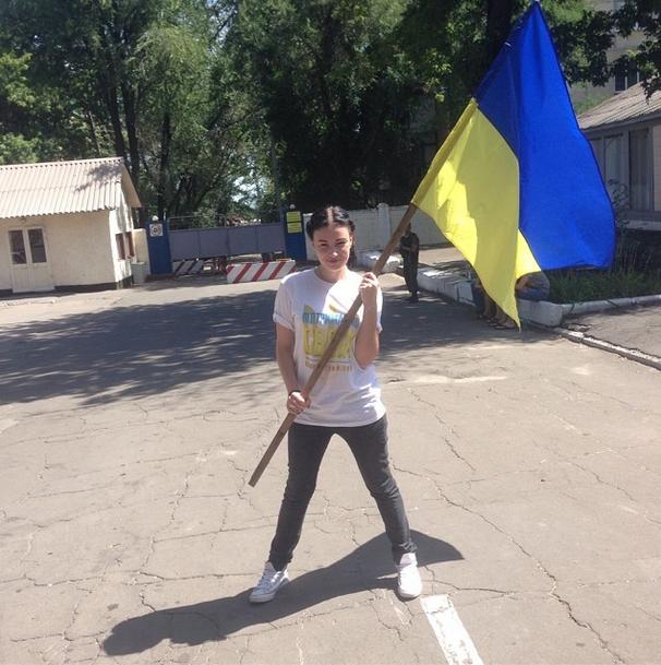 Украинская певица Анастасия Приходько