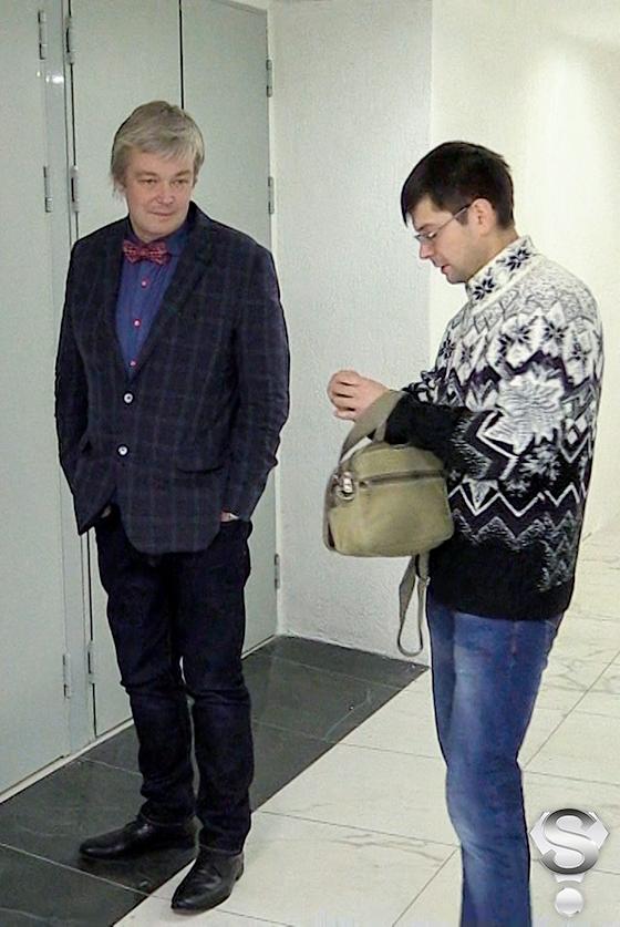 Похудевший Александр Стриженов