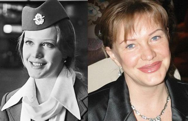После многочисленных манипуляций изменилось лицо и 61-летней Елены Прокловой