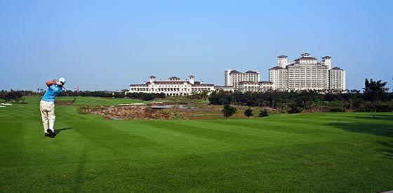 Турнир World Celebrity Pro-Am пройдет в курортном отеле Mission Hills Haikou, расположенном на тропическом острове Хайнань