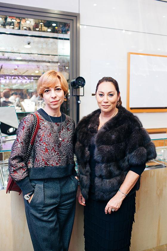 Телеведущая Марианна Максимовская и Алла Вербер (Mercury)