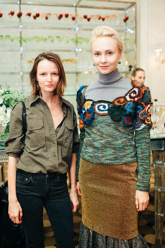 Ольга Дунина (Vogue) и Ольга Карпуть (KM20)