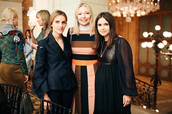 Ювелир Гайя Репосси, Виктория Давыдова (Vogue) и Мирослава Дума (Buro24/7)