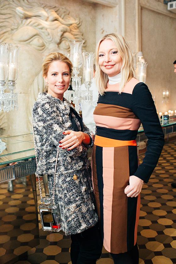 Светская дама Светлана Захарова и Виктория Давыдова (Vogue)