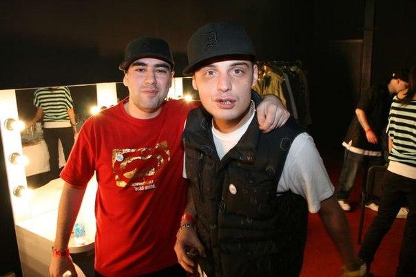 Рэперы Slim и Guf