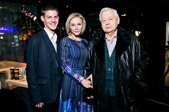 Павел Табаков, Марина Зудина и Олег Табаков