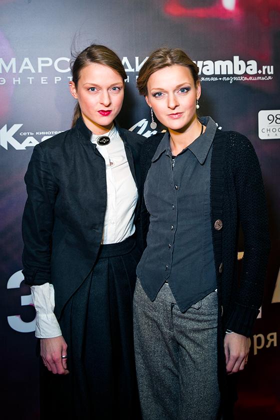 Актрисы Екатерина и Дарья Носик