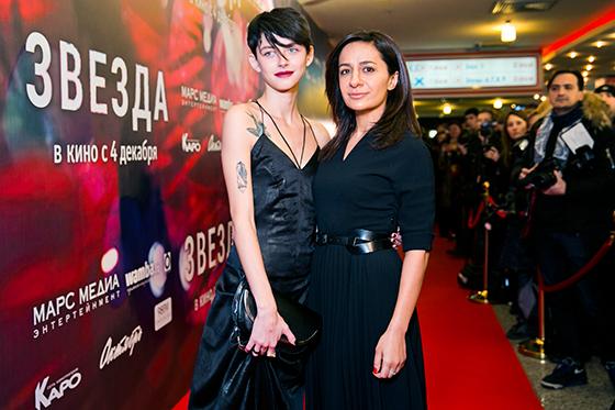 Актриса Северия Янушаускайте (слева) и режиссер Анна Меликян