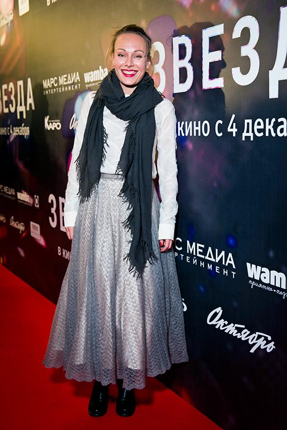 Актриса Ольга Ломоносова