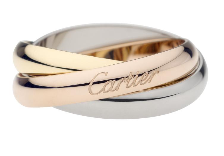 Картье кольцо обручальное
