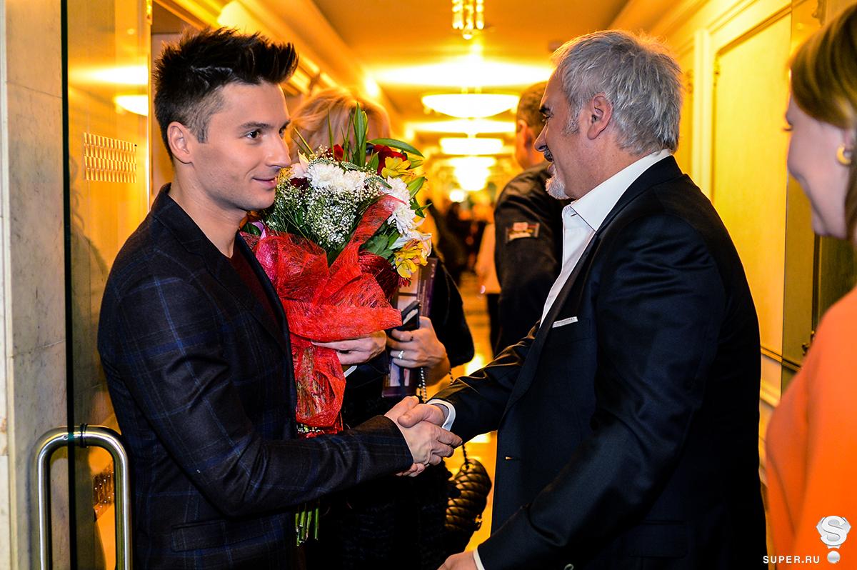 Сергей Лазарев и Валерий Меладзе