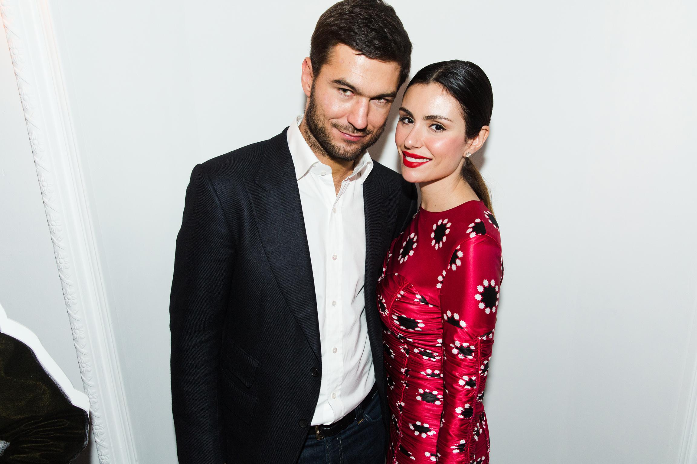 Бизнесмен Алексей Гарбер с девушкой Лизой Грендене