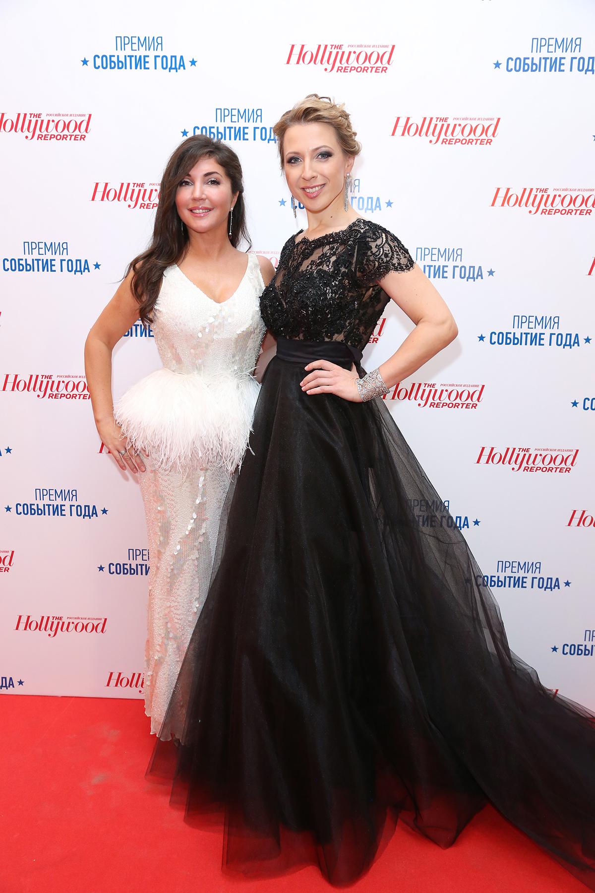 Телеведущая Яна Чурикова (справа) и главный редактор THR Мария Лемешева