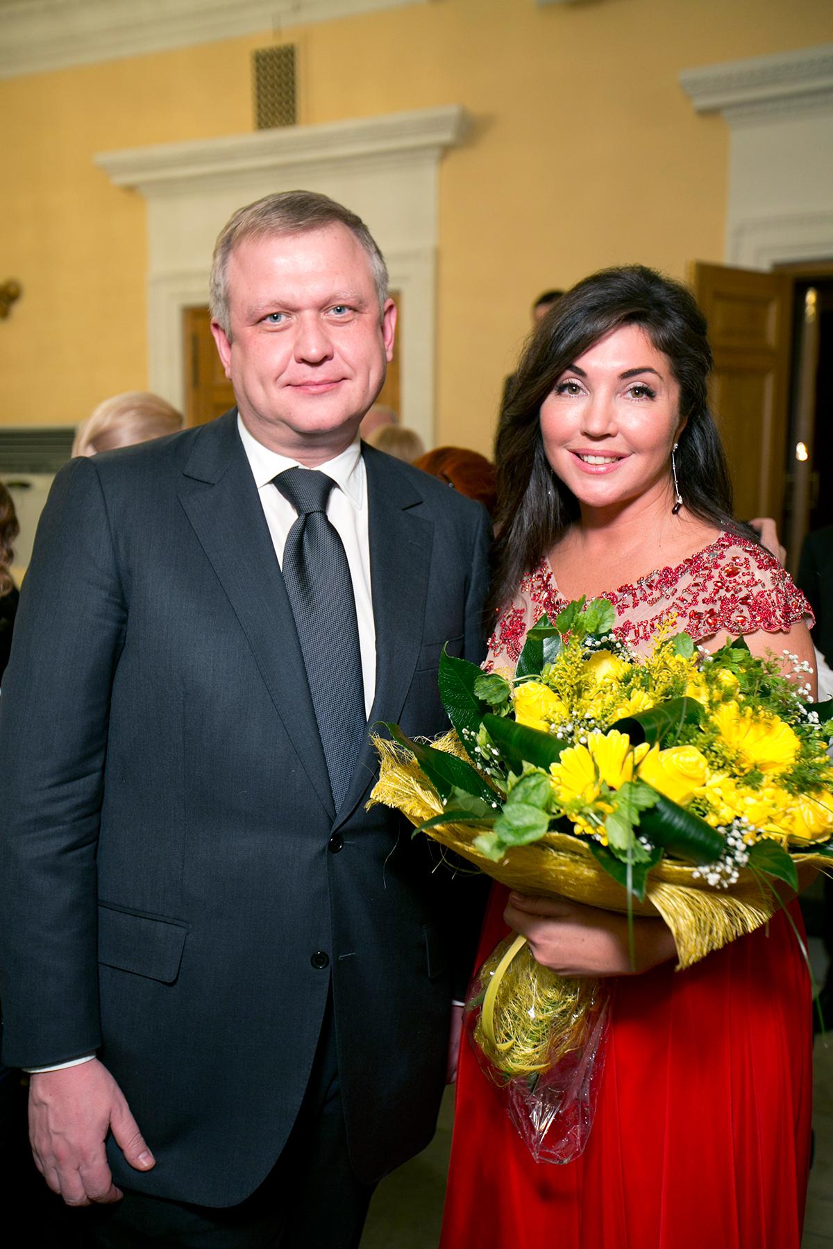 Сергей Капков и Мария Лемешева