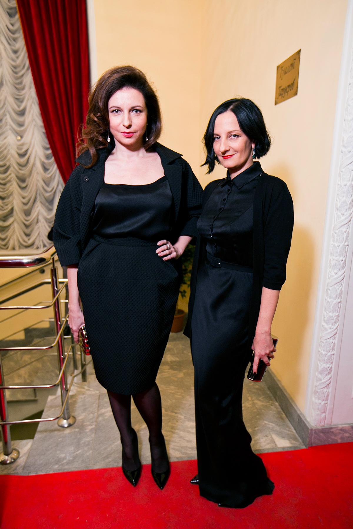 Актриса Алиса Хазанова и модельер Светлана Теген