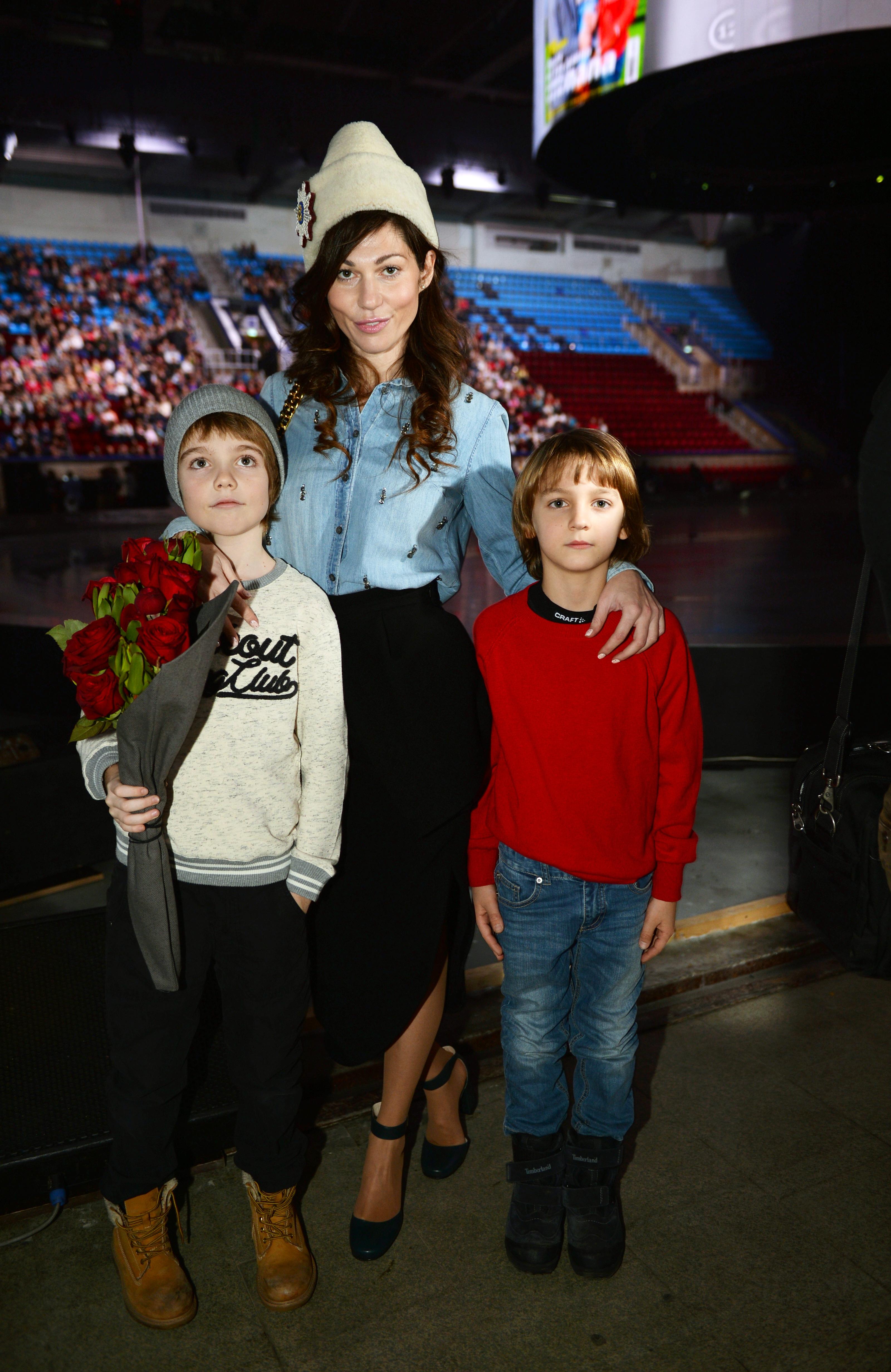 Евгения Линович (Masterpeace) с детьми