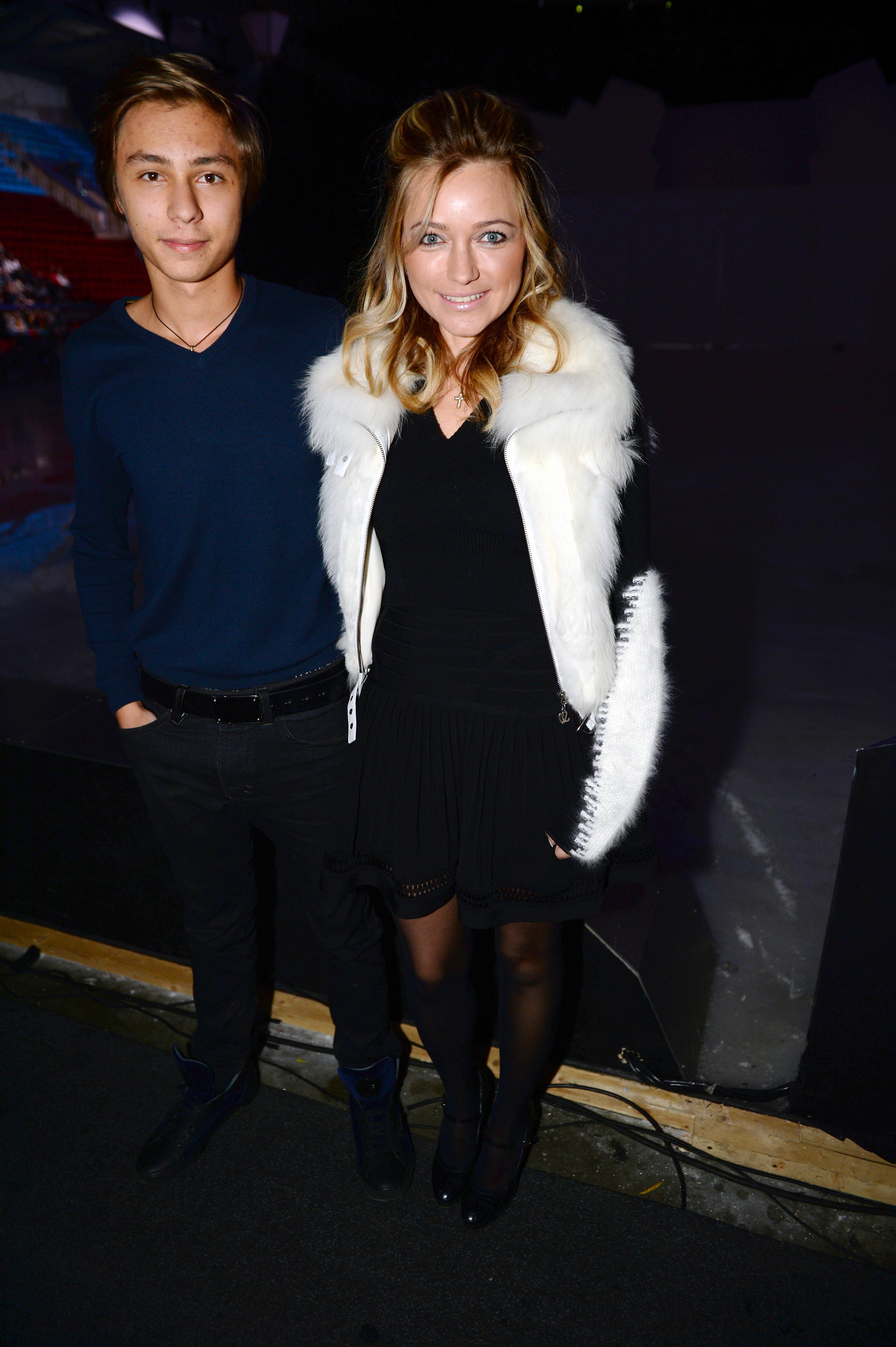 Певица Инна Маликова с сыном