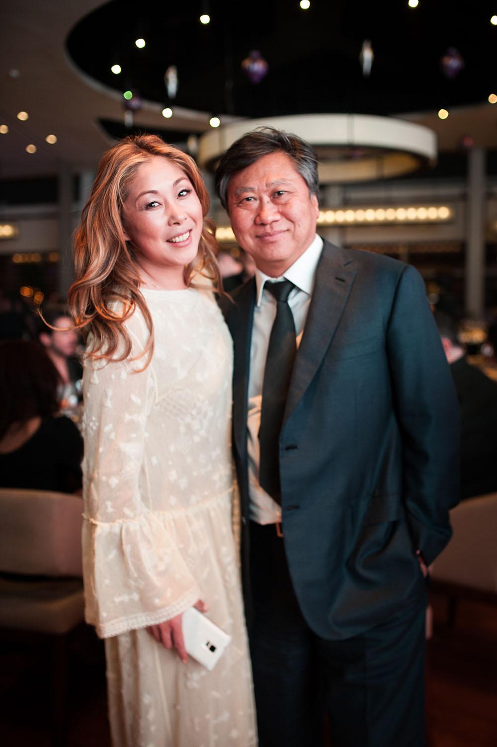 Певица Анита Цой с мужем Сергеем