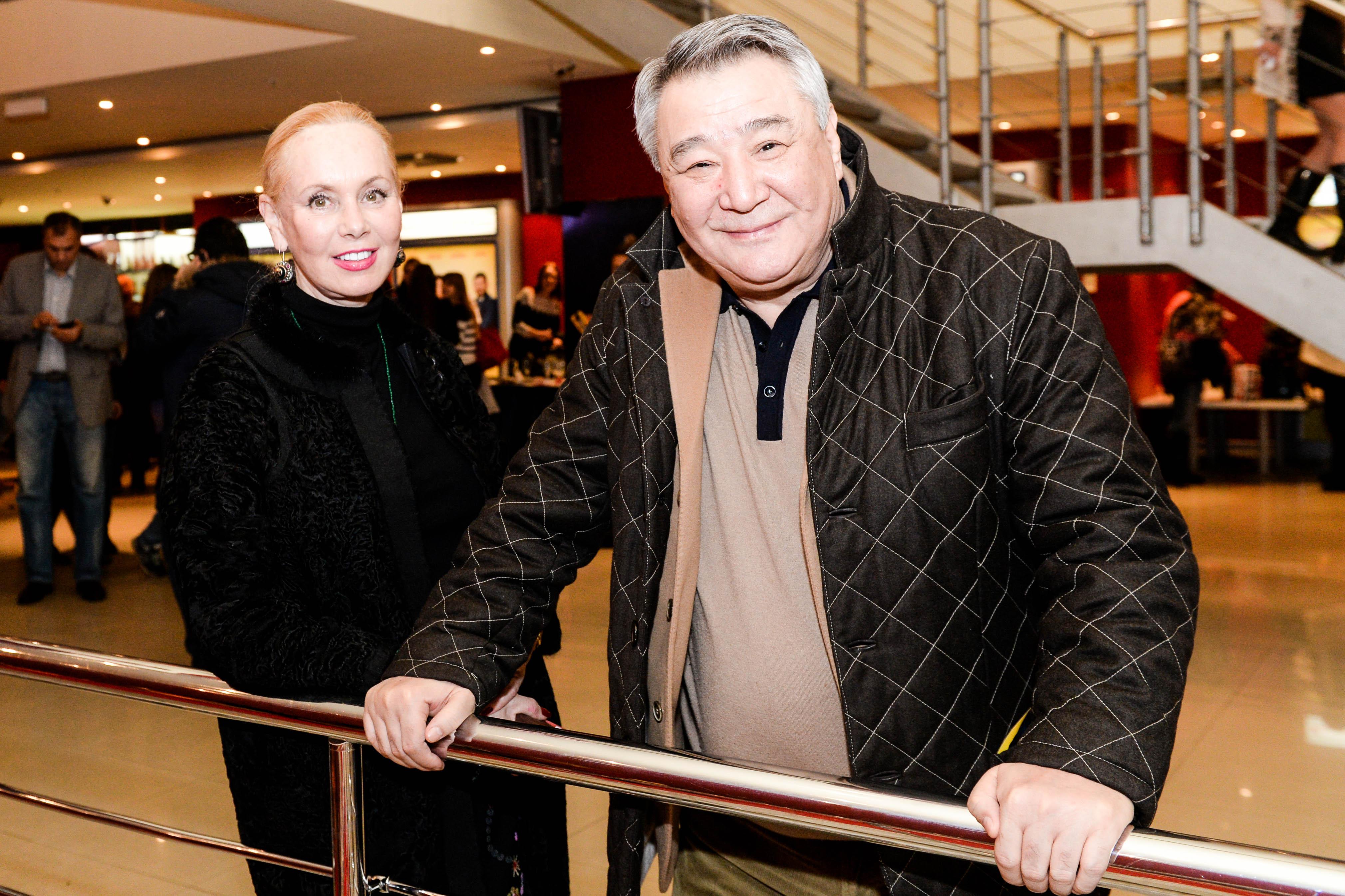 Нелли Кобзон и бизнесмен Алимжан Тохтахунов