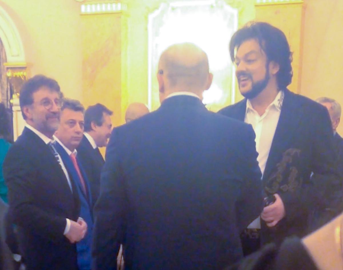 Леонид Ярмольник и Филипп Киркоров
