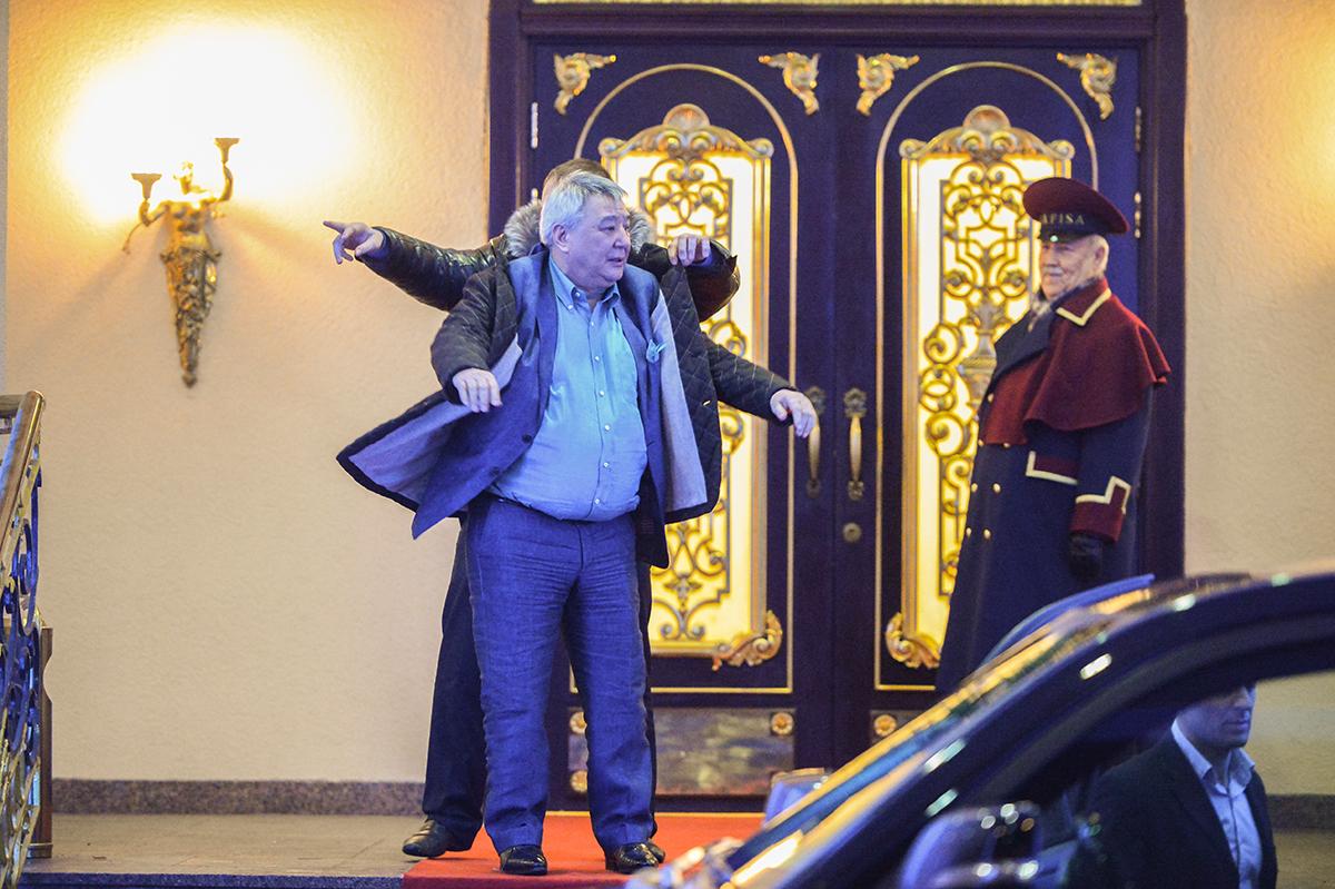 Бизнесмен Алимжан Тохтахунов