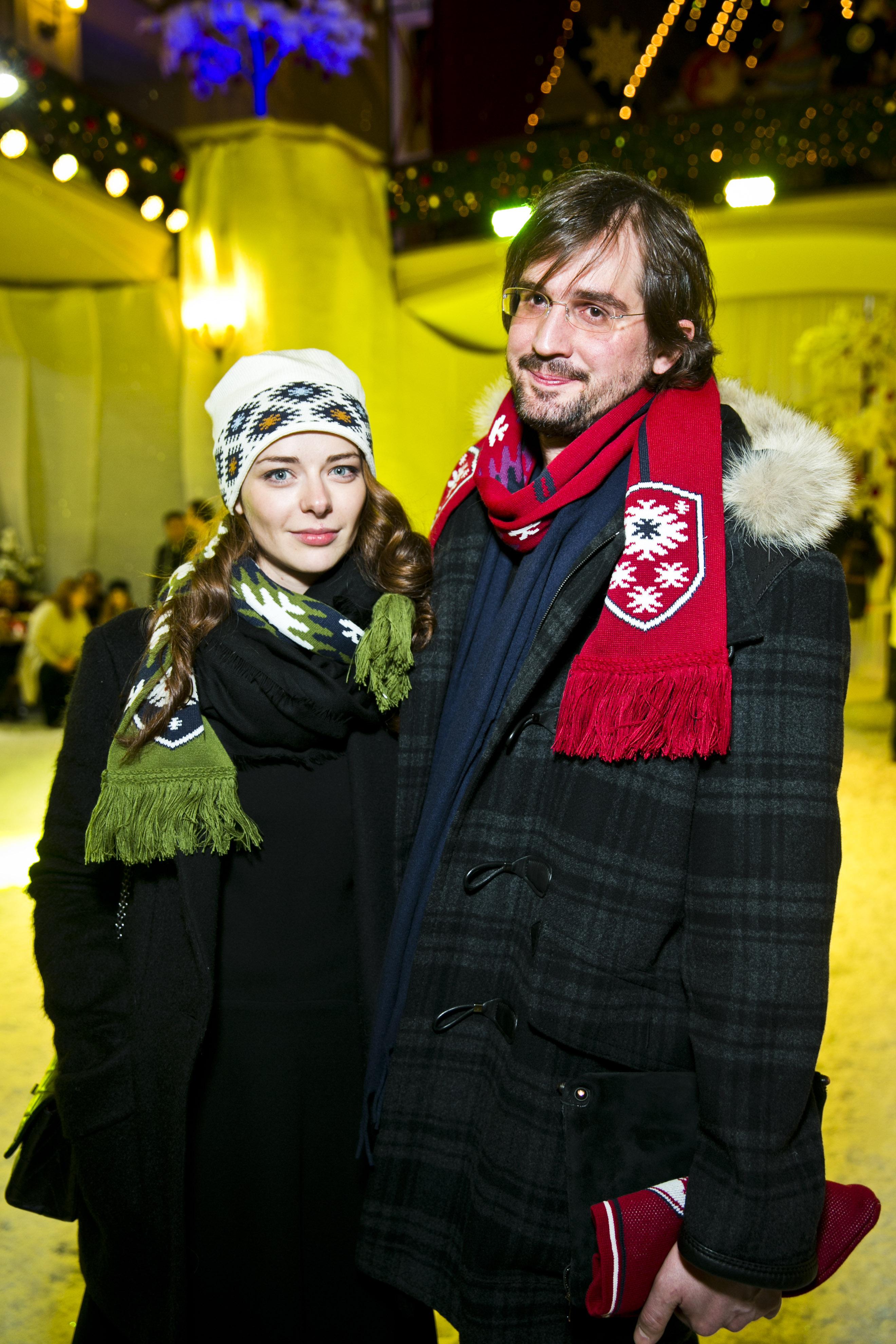 Актриса Марина Александрова с мужем Андреем Болтенко