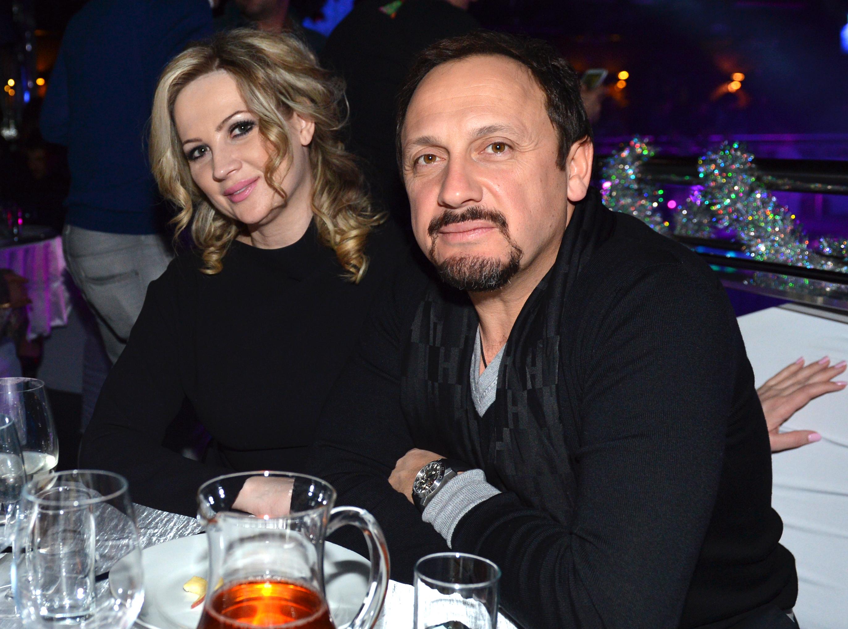 Певец Стас Михайлов с женой Инной