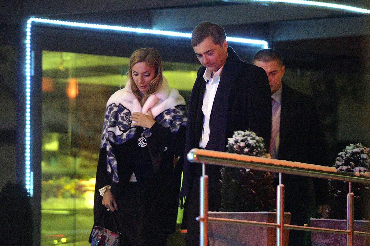 Владислав и Наталья Сурковы