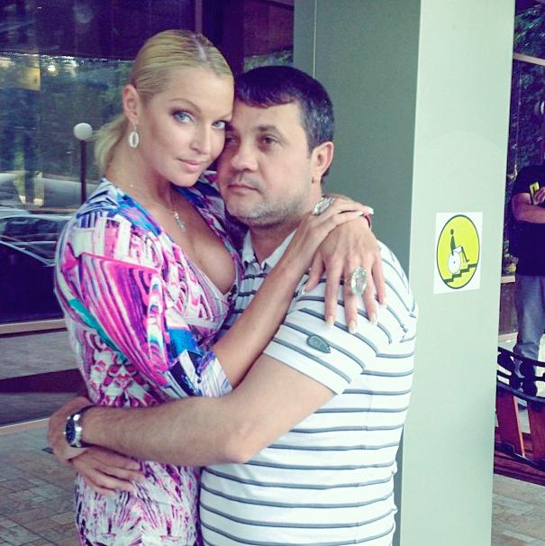 Анастасия Волочкова с бывшим возлюбленным Бахтияром Салимовым