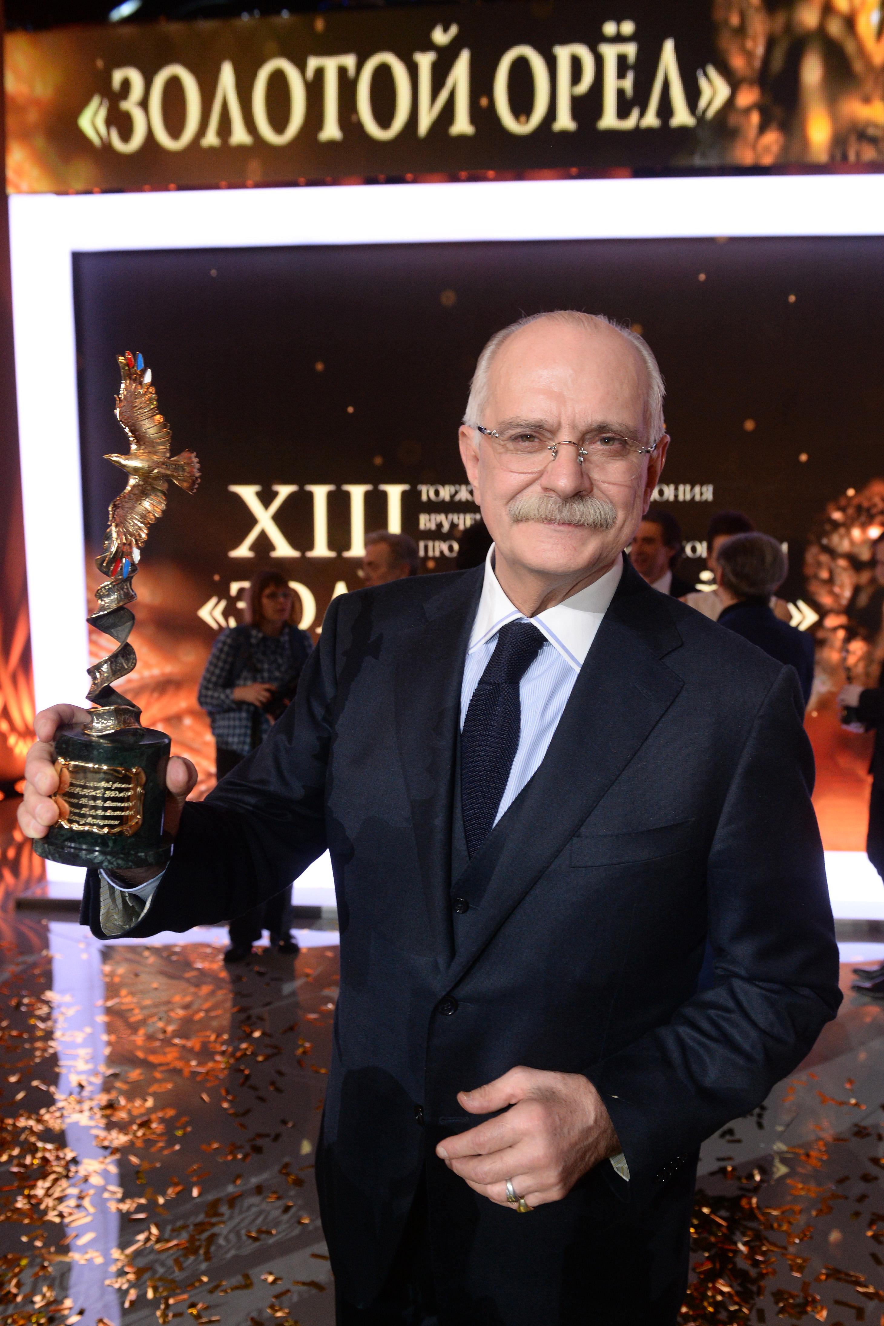 «Солнечный удар» Никиты Михалкова получил главный приз российской премии «Золотой орел»