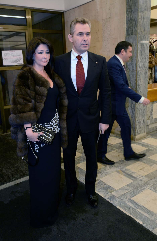 Уполномоченный при президенте РФ по правам ребенка Павел Астахов с супругой