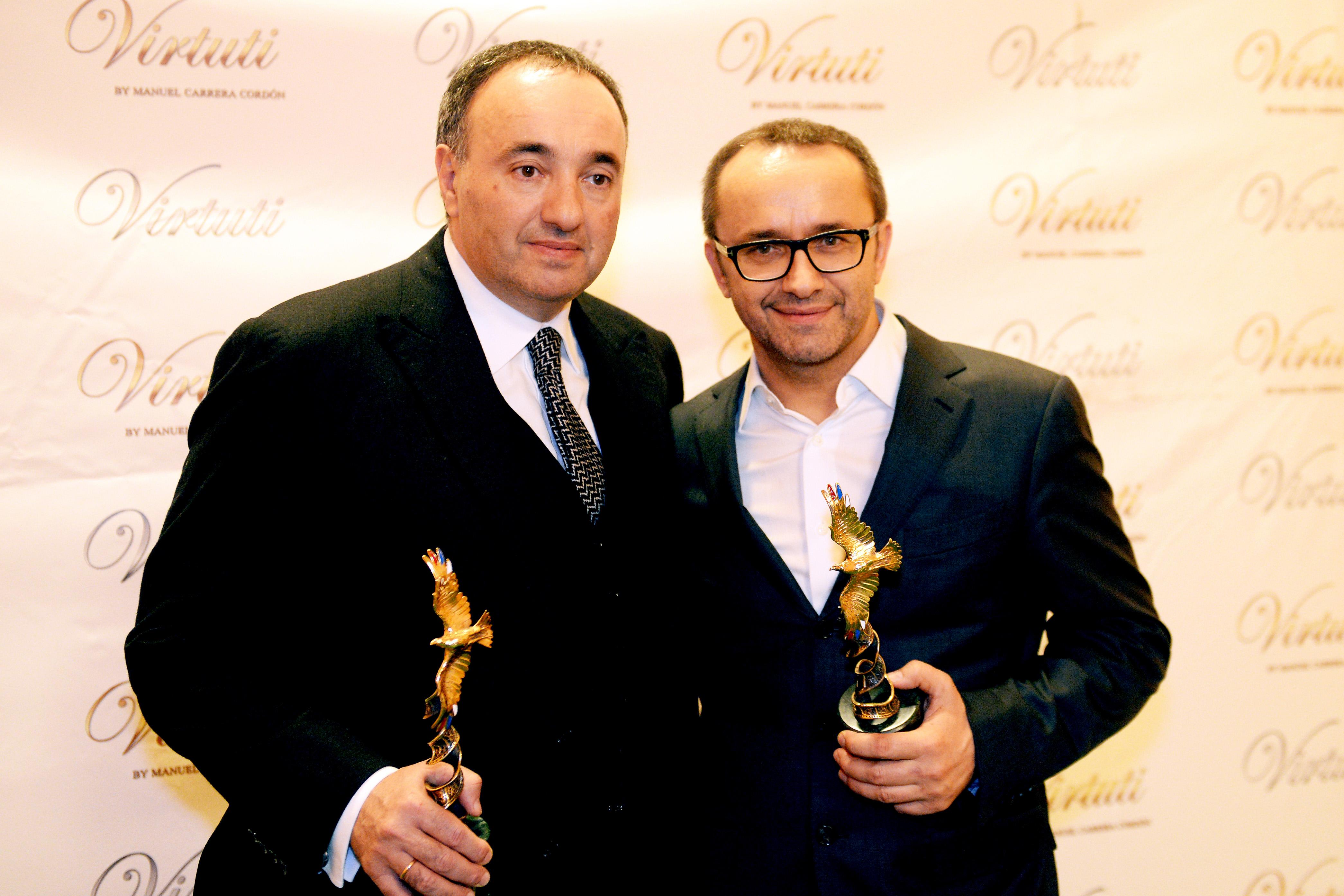 Александр Роднянский и Андрей Звягинцев