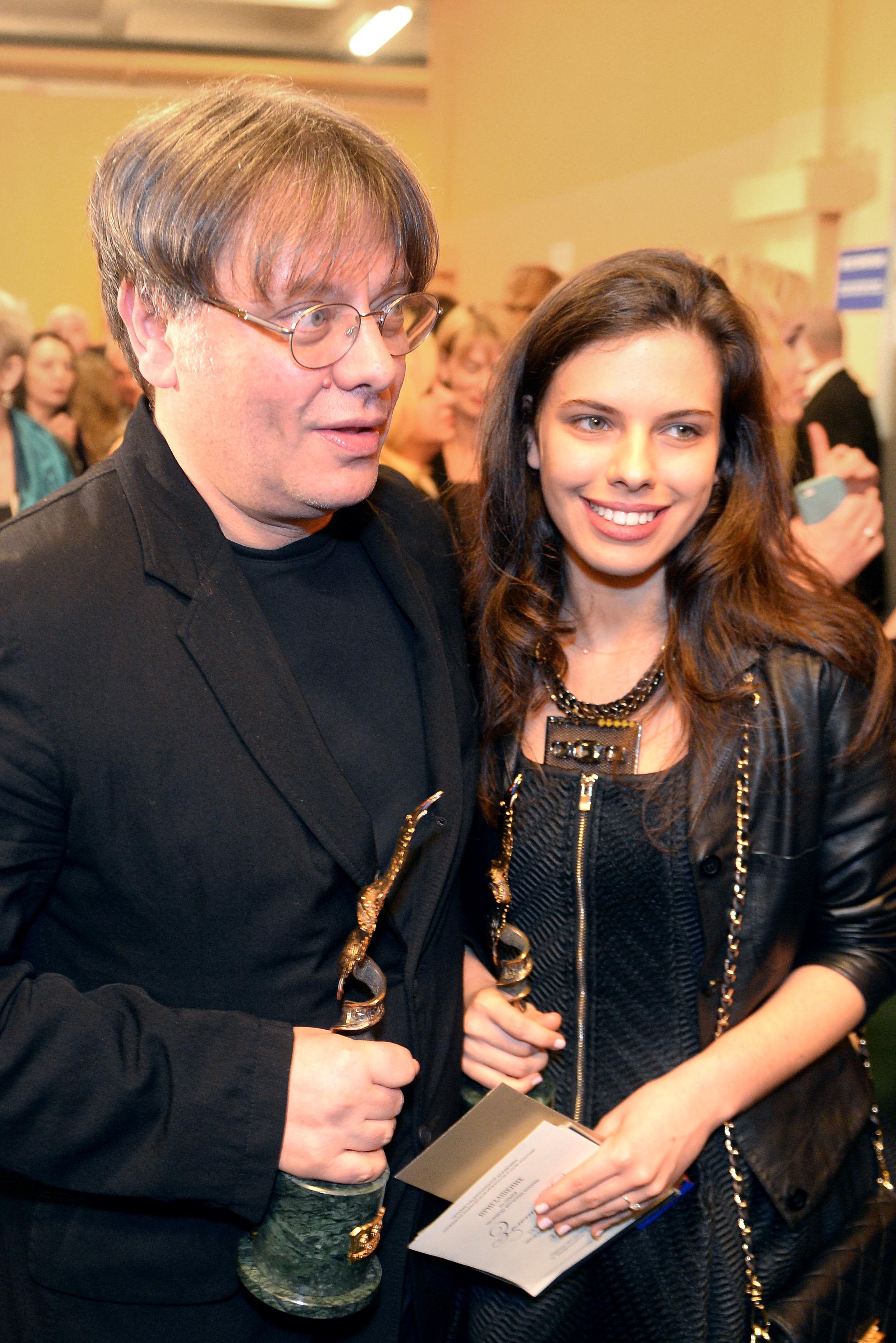 Валерий Тодоровский с дочерью