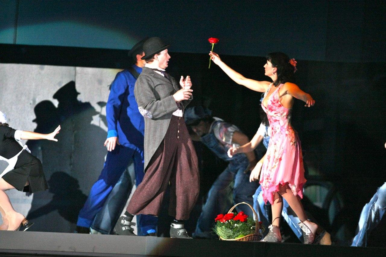 Марат Башаров и Мария Орлова в шоу «Огни большого города»